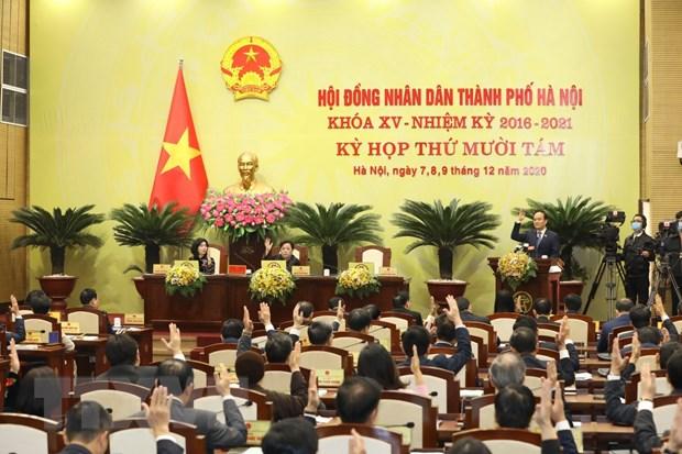Ky hop thu 18 HDND Ha Noi: Cu tri kien nghi nhieu van de buc thiet hinh anh 1