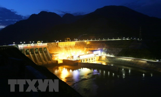 Nha may Thuy dien Lai Chau dat san luong 20 ty kWh dien hinh anh 1