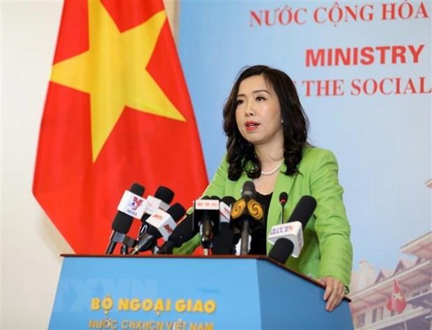 Bo Ngoai giao: Dam bao an toan, quyen loi cho cac thuyen vien Viet Nam hinh anh 1