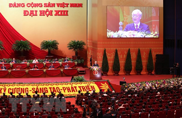 Toan van Bao cao cua Ban Chap hanh Trung uong khoa XII hinh anh 1