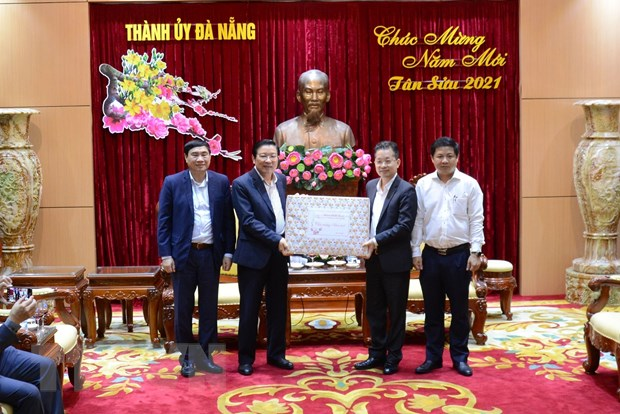 Truong ban Noi chinh Trung uong lam viec voi Thanh uy Da Nang hinh anh 1