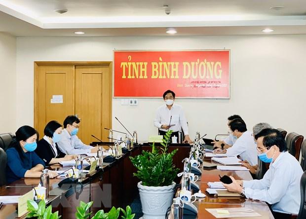 Binh Duong: Ket qua tam soat hon 1.500 cong nhan o cac KCN deu am tinh hinh anh 1