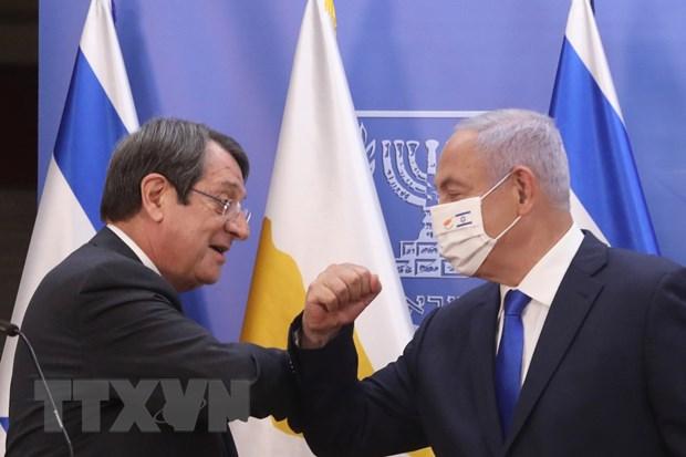 Dich COVID-19: Israel-Cyprus ky thoa thuan cho phep nguoi dan qua lai hinh anh 1