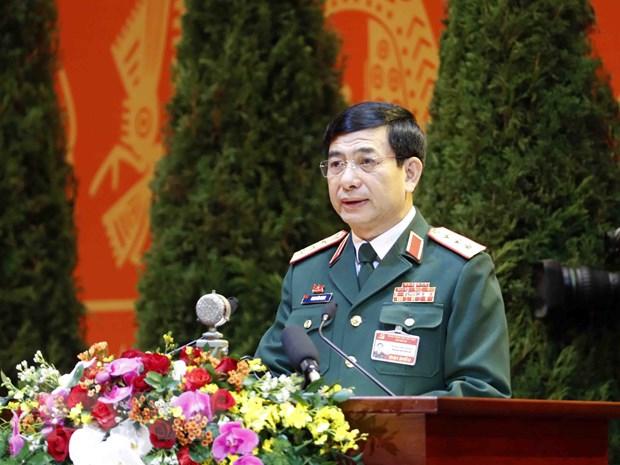 Bo Quoc phong lam viec voi Bo Tong Tham muu Quan doi nhan dan Viet Nam hinh anh 1