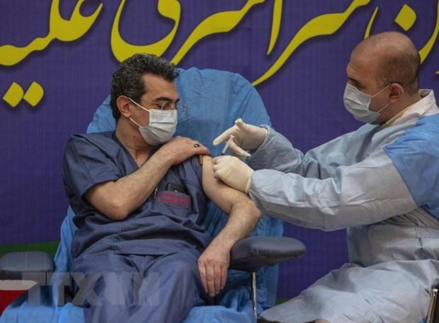 Iran thiet lap phong xet nghiem COVID-19 tu dong dau tien hinh anh 1