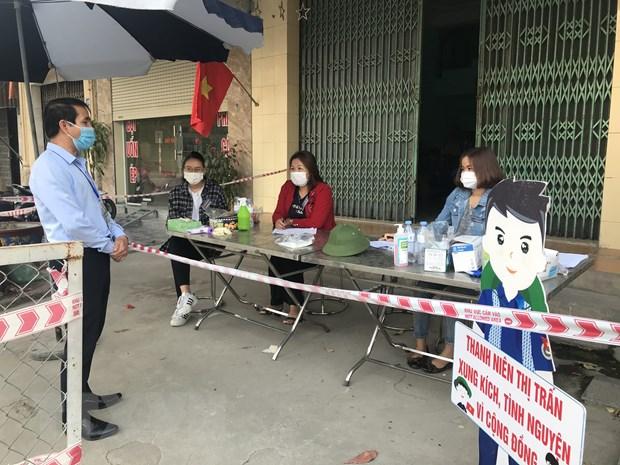 Hai Duong: Huyen Ninh Giang tung buoc day lui dich COVID-19 hinh anh 1