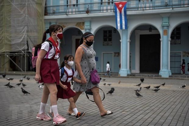Cuba: So ca tu vong do COVID-19 trong mot thang lan dau vuot muc 100 hinh anh 1