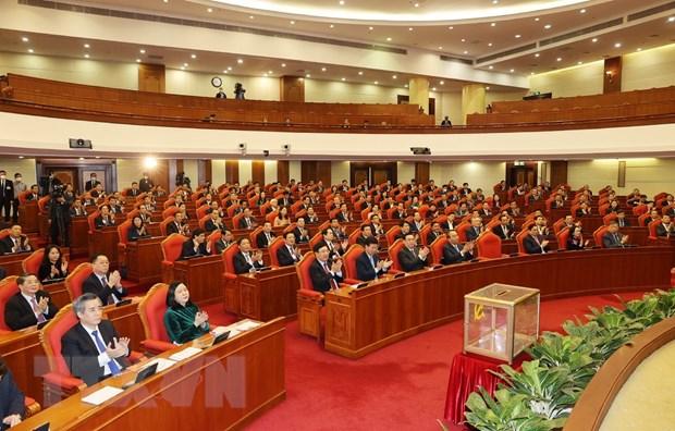 Phien be mac Hoi nghi lan thu hai BCH Trung uong Dang khoa XIII hinh anh 1