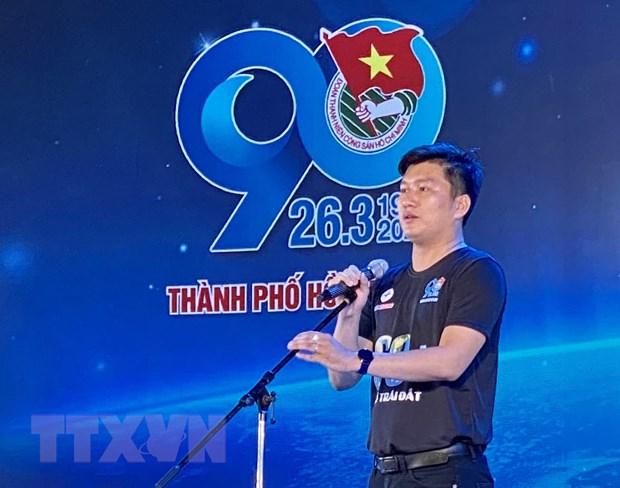 Thanh pho Ho Chi Minh: Hang tram nguoi dap xe huong ung Gio Trai dat hinh anh 2
