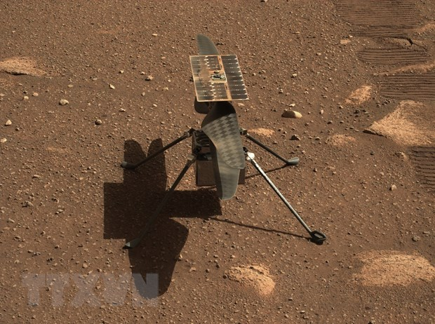 NASA lui thoi diem chuyen bay cua truc thang Ingenuity tren Sao Hoa hinh anh 1