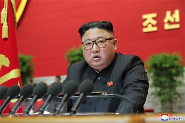 Nha lanh dao Kim Jong-un chu tri cuoc hop BCH TW Dang LD Trieu Tien hinh anh 1
