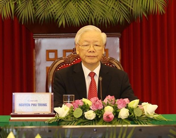 Tong Bi thu: Cac quoc gia, chinh dang can neu cao tinh than doan ket hinh anh 1