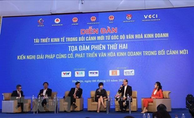 Chinh thuc cong bo Bo tieu chi van hoa kinh doanh Viet Nam hinh anh 1