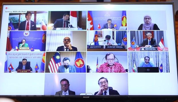 """Toa dam cap cao """"ASEAN-Nhat Ban: Huong toi 50 nam Quan he doi tac"""