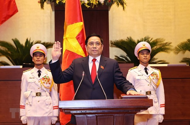 """Thu tuong Pham Minh Chinh: Thao go """"rao can,"""" """"diem nghen"""" ve the che hinh anh 1"""