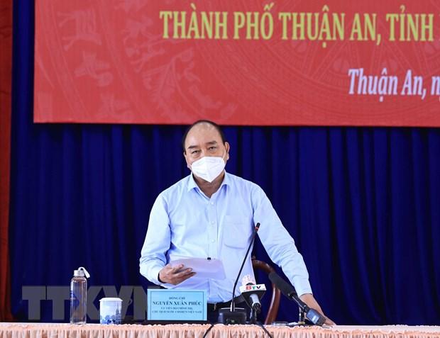 Chu tich nuoc: Binh Duong can han che ca nhiem, khong dan den qua tai hinh anh 1