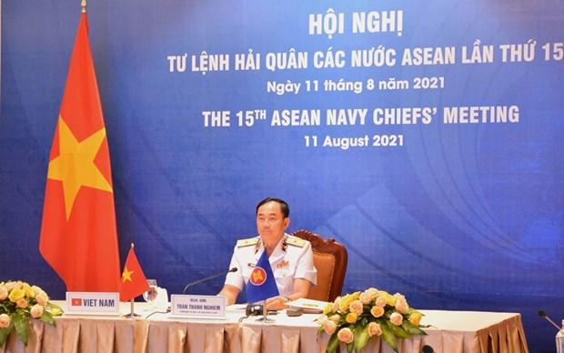 Hoi nghi truc tuyen Tu lenh Hai quan cac nuoc ASEAN lan thu 15 hinh anh 1