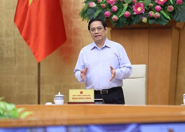 Thu tuong Pham Minh Chinh: Quy hoach phai di truoc mot buoc hinh anh 1