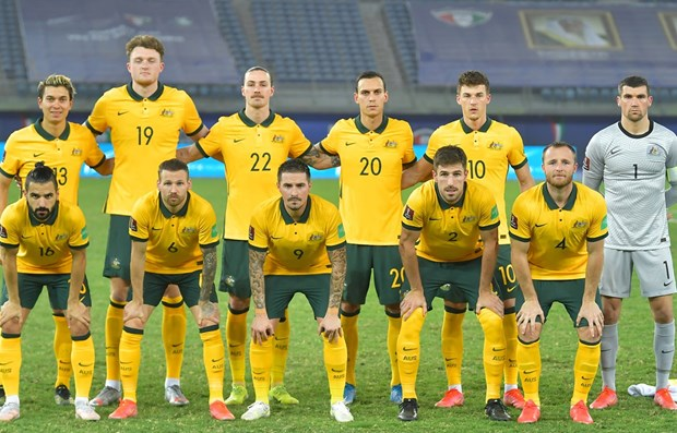 Australia du kien mot so thay doi doi hinh xuat phat tran gap Viet Nam hinh anh 1