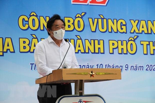 Nguoi dan Thu Dau Mot phan khoi khi ve trang thai