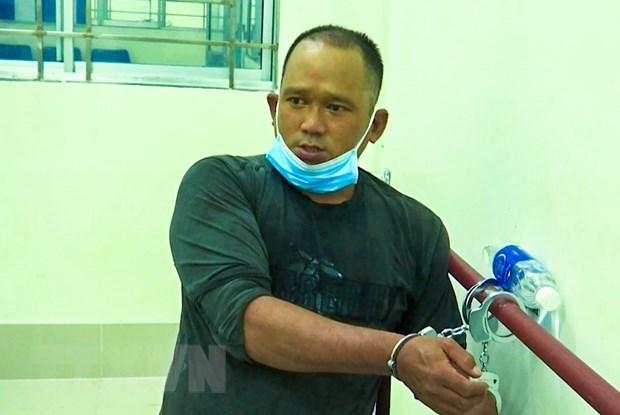 """Can Tho: Tam giu doi tuong dam trong thuong bao ve chot """"vung xanh"""