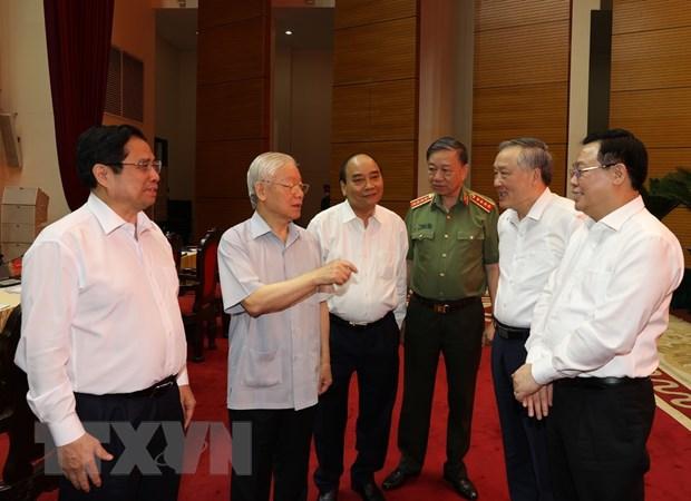 Tong Bi thu: Khuoc tu moi cam do, giu danh du nguoi can bo noi chinh hinh anh 3