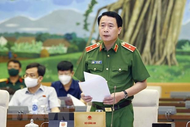 Phien hop Uy ban Thuong vu QH: Xem xet du an Luat Canh sat Co dong hinh anh 1