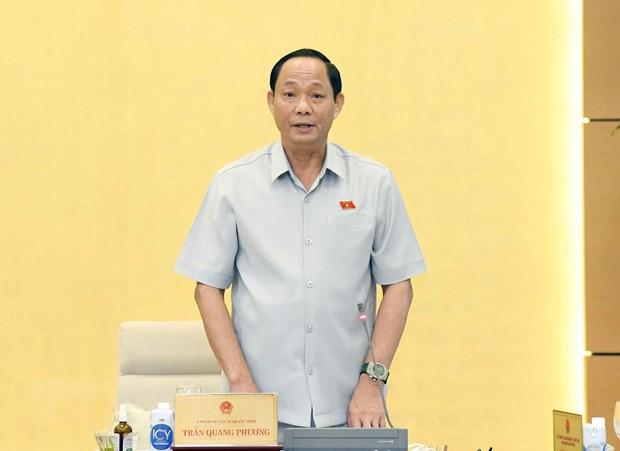 Phien hop Uy ban Thuong vu QH: Xem xet du an Luat Canh sat Co dong hinh anh 2