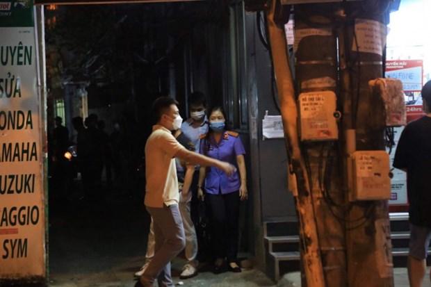 Ha Noi: Khoi to, bat tam giam nguyen Truong Cong an quan Tay Ho hinh anh 1