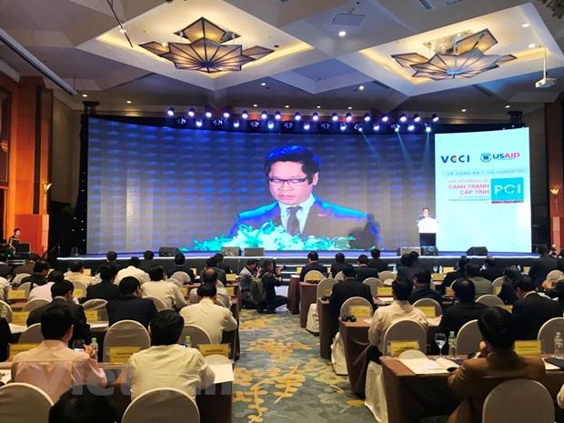 Quang Ninh lan dau dung nhat trong bang xep hang PCI 2017 hinh anh 1