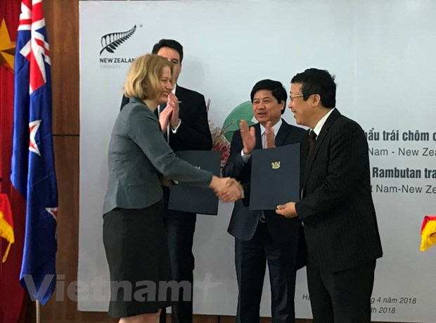 Chom chom Viet Nam chinh thuc tham nhap vao thi truong New Zealand hinh anh 1