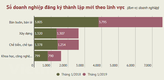 Ca nuoc co 10.079 doanh nghiep thanh lap moi trong thang Mot hinh anh 2