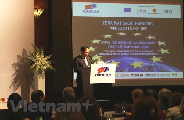 EuroCham danh gia tich cuc ve moi truong kinh doanh cua Viet Nam hinh anh 2