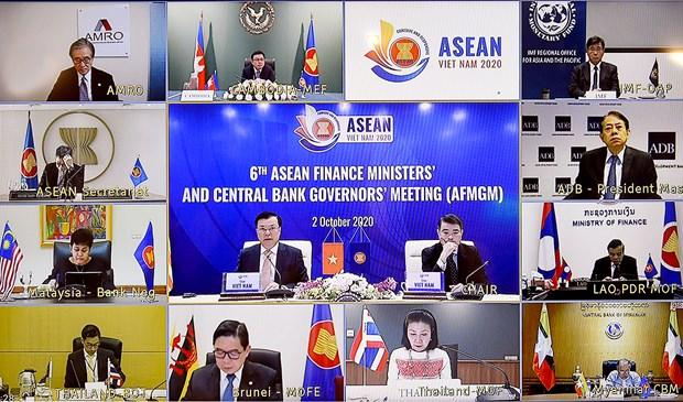 ASEAN kien dinh voi cam ket thuc day tang truong kinh te hinh anh 1