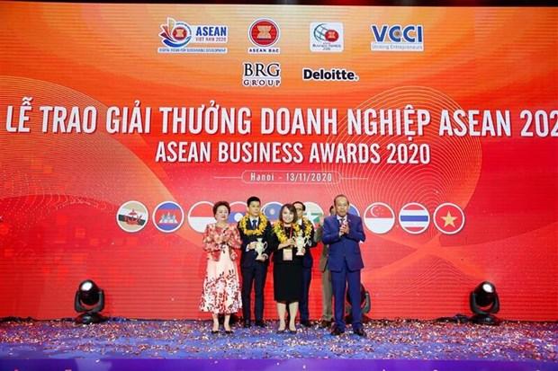 Tap doan An Phat ghi danh tai Giai thuong Doanh nghiep ASEAN 2020 hinh anh 1