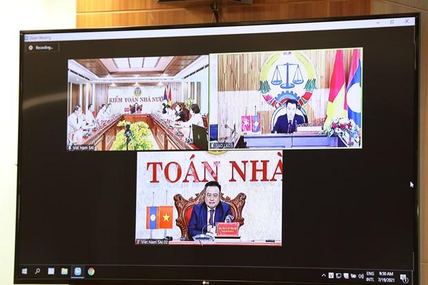 Viet Nam va Lao tang cuong hop tac trong hoat dong kiem toan Nha nuoc hinh anh 1