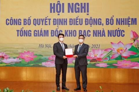 Bo nhiem ong Tran Quan lam Tong giam doc Kho bac Nha nuoc hinh anh 1