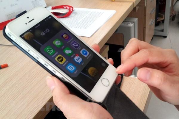 "Thi truong iPhone 5S truoc suc ep cua ""qua tao"" moi iPhone 6 hinh anh 1"