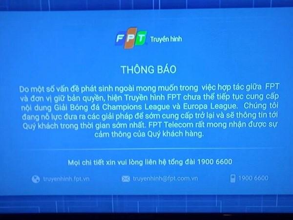 Ai vi pham ban quyen de VTVcab bi cat song Champions League? hinh anh 3