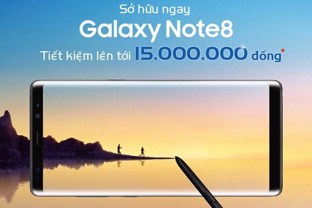 MobiFone uu dai lon cho khach hang dat mua Galaxy Note 8 hinh anh 1