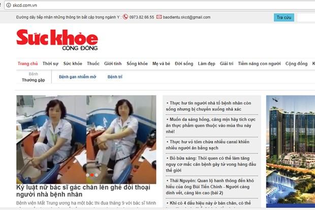 Noi bo luc duc, Bao Suc khoe cong dong bi dinh ban ba thang hinh anh 1