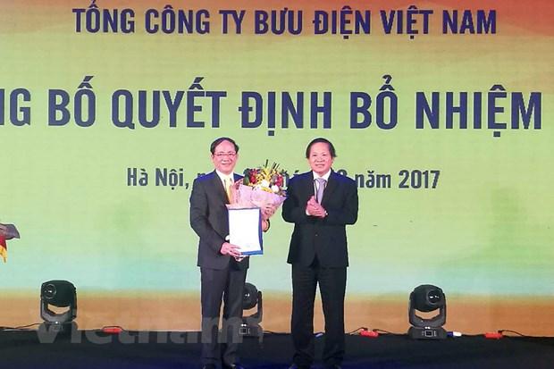 VietnamPost dat muc tieu dat hon 22.000 ty dong trong nam 2018 hinh anh 1