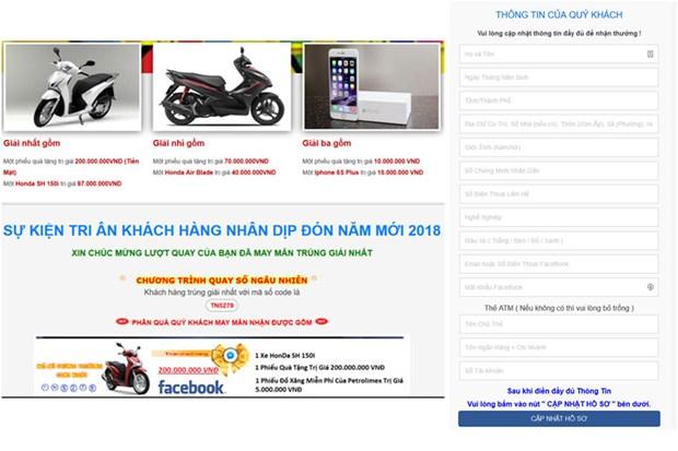 700 website dang tan cong lua dao nguoi dung Internet Viet Nam hinh anh 1