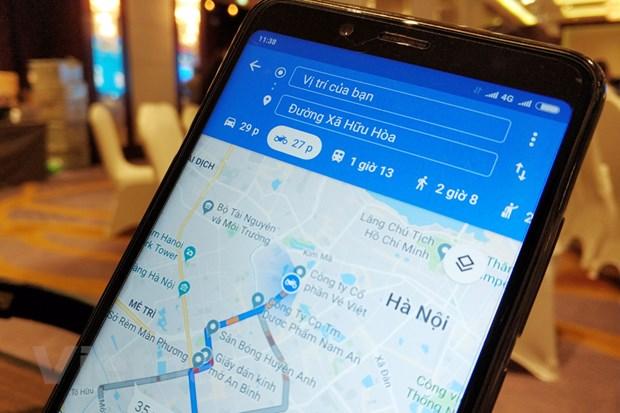 Google Maps da co tuy chon danh rieng cho xe may tai Viet Nam hinh anh 1