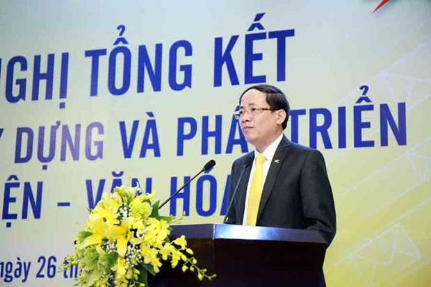 Buu dien van hoa xa gop 14% trong tong doanh thu cua VietnamPost hinh anh 1