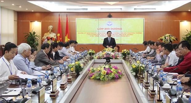 Bo truong Nguyen Manh Hung: Luc kho khan, tuong phai di dau hinh anh 1