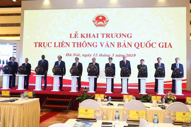 Truc lien thong van ban: Nen tang cot loi cua Chinh phu dien tu hinh anh 1