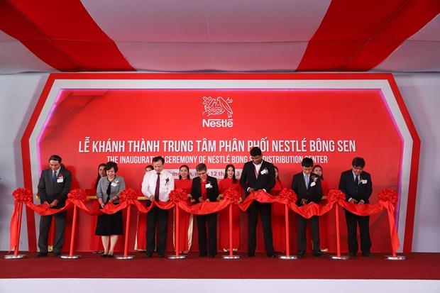 Van hanh Trung tam phan phoi: Buoc di chien luoc cua Nestle Viet Nam hinh anh 1
