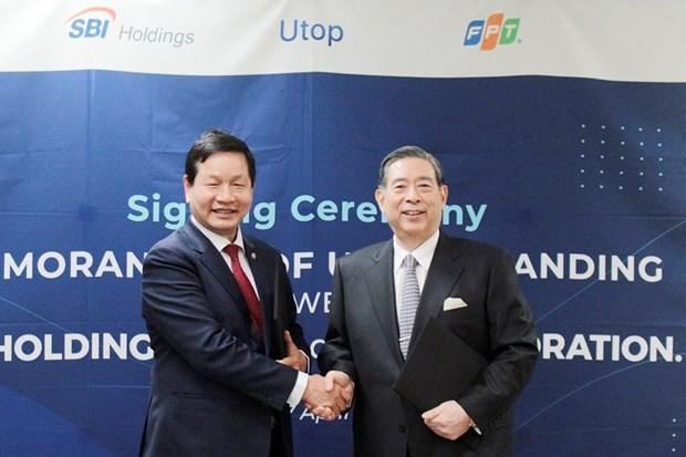 Start-up Utop nhan dau tu 3 trieu USD tu SBI Holdings va FPT hinh anh 1