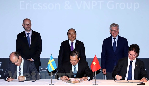 VNPT 'bat tay' cung Ericsson phat trien cong nghe Internet van vat hinh anh 1